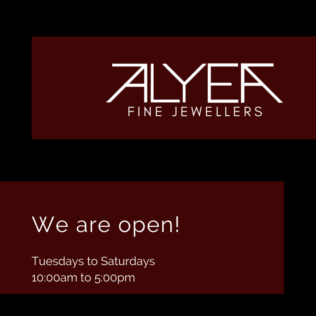 we are open! Tuesdays to Saturdays, 10:00am to 5:00pm