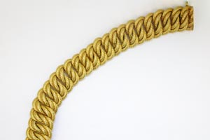 gold braid chain